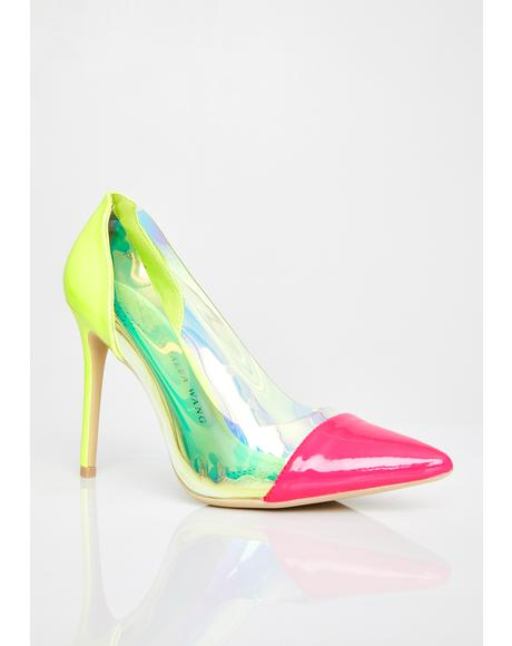 Kika Hologram Heels