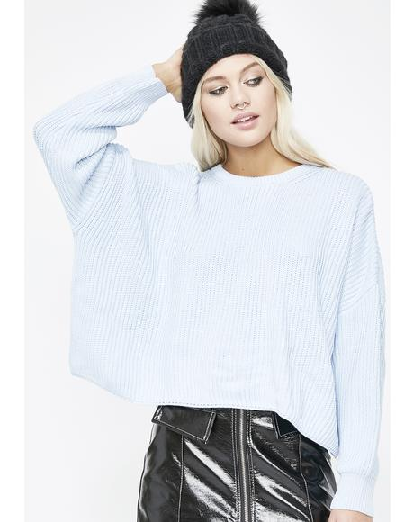 Cold Hearted Boxy Sweater