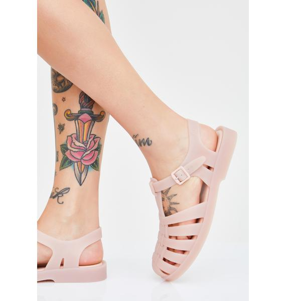Melissa Peach Possession Jelly Sandals