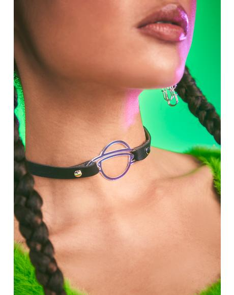 Universal Truth Vegan Leather Choker