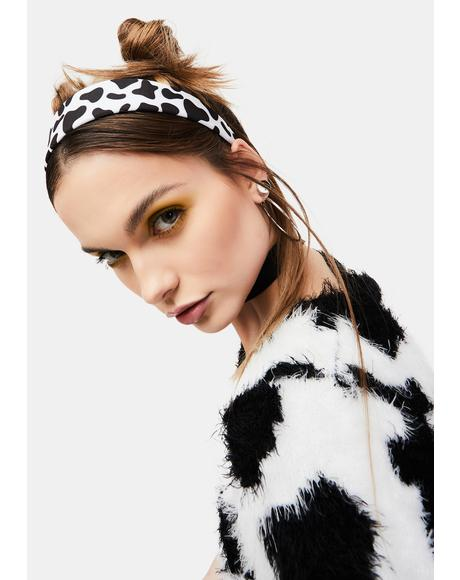 Cow Chic Headband