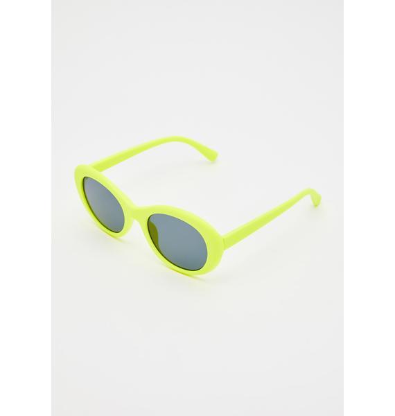 Taste The Sun Round Sunglasses