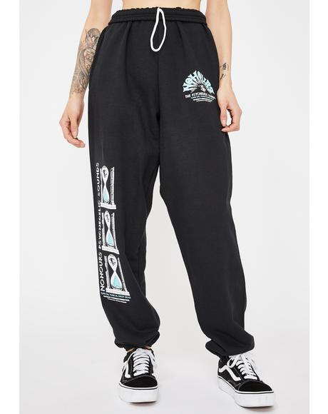 Psyc Sound Graphic Sweatpants