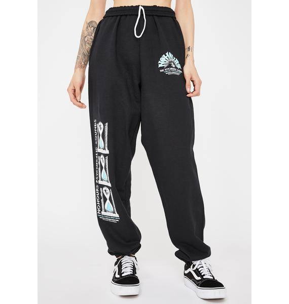 No Hours Psyc Sound Graphic Sweatpants