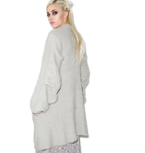 Wildfox Couture Solid Misty Morning Coat
