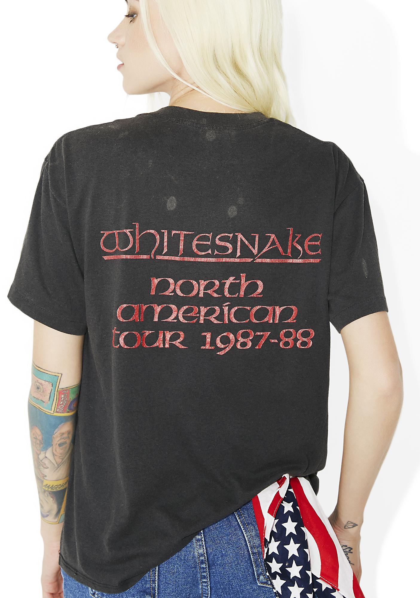Vintage Whitesnake '87 Tour Tee