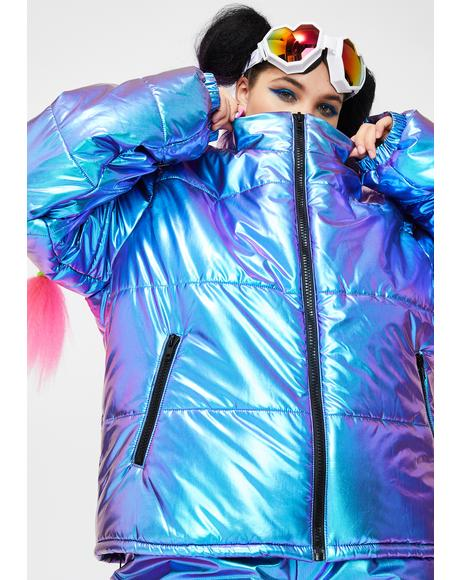 Miss Space Bae Escapade Puffer Jacket