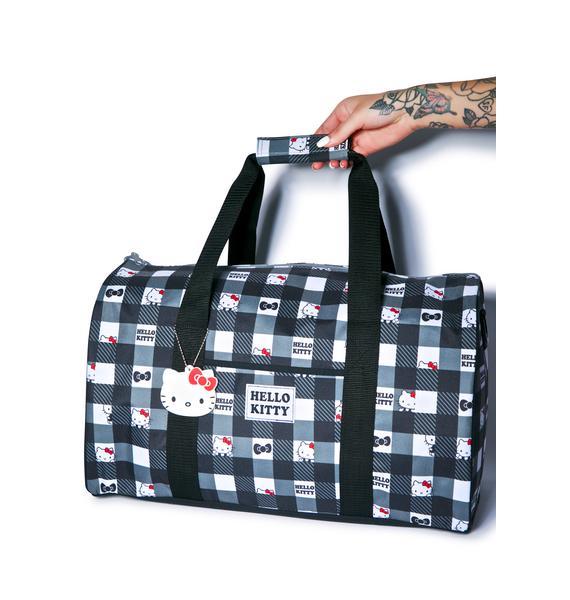 Sanrio Hello Kitty Check Yerself Overnight Bag