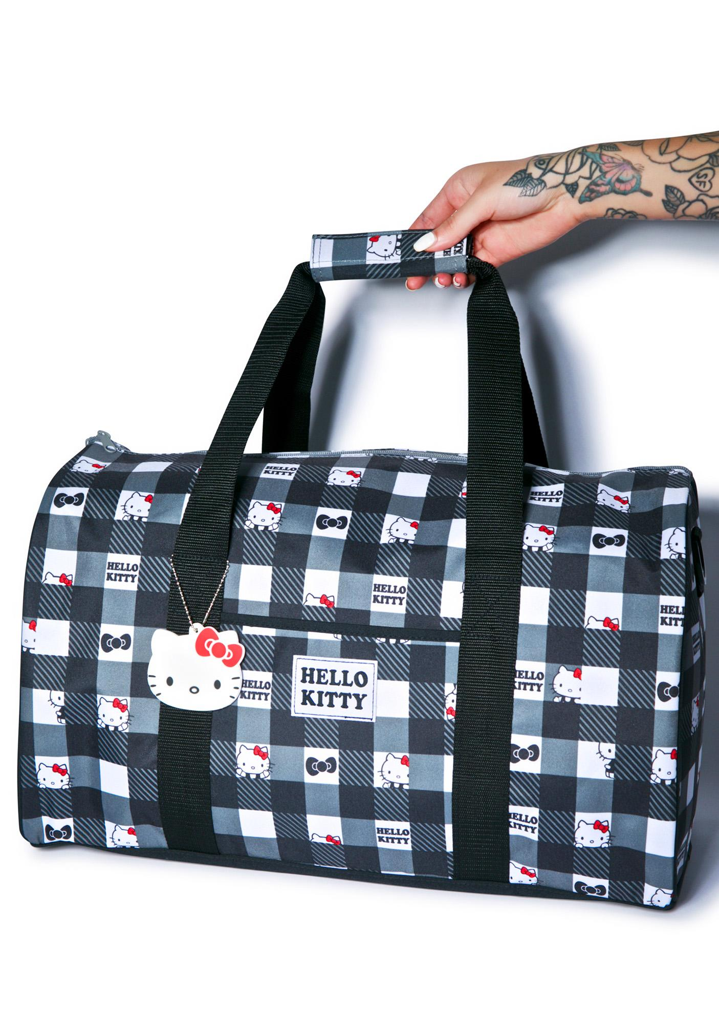 Sanrio Hello Kitty Check Yerself Overnight Bag