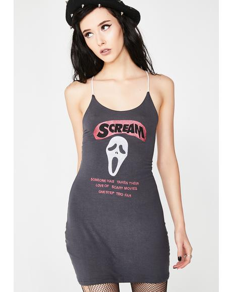 Scream Mini Dress
