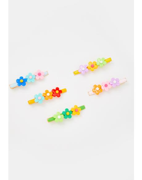 You Grow Girl Hair Clip Set
