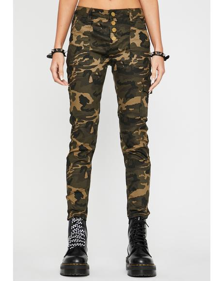Camo Hard Choices Cargo Pants