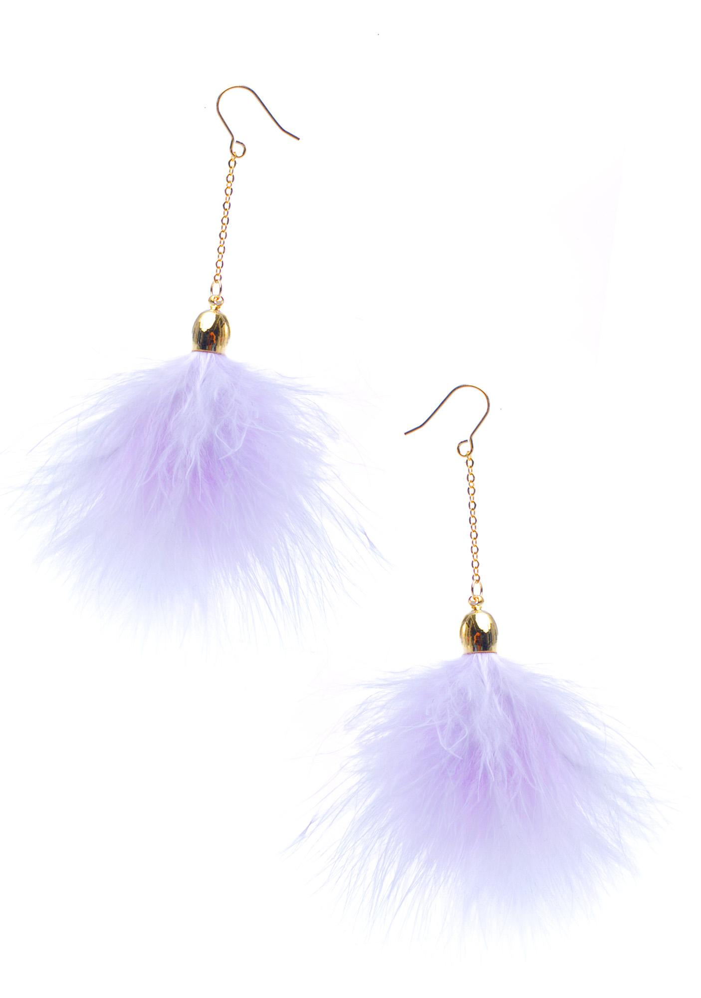 Princess Fluff Earrings