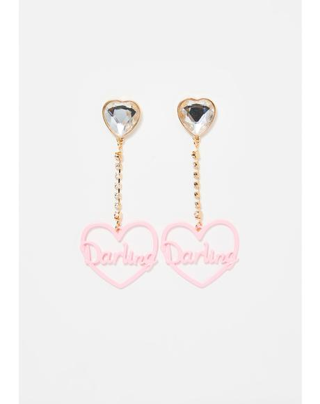 Princess Diaries Drop Earrings