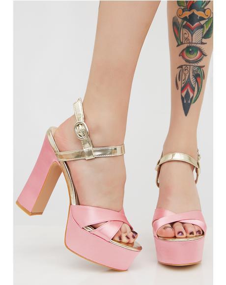 Vamp Platform Heels