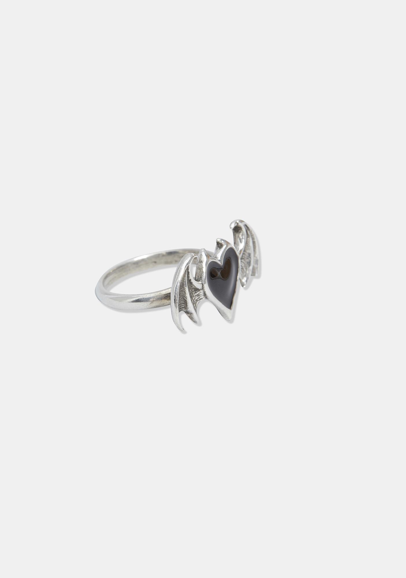 Alchemy England Black Soul Ring