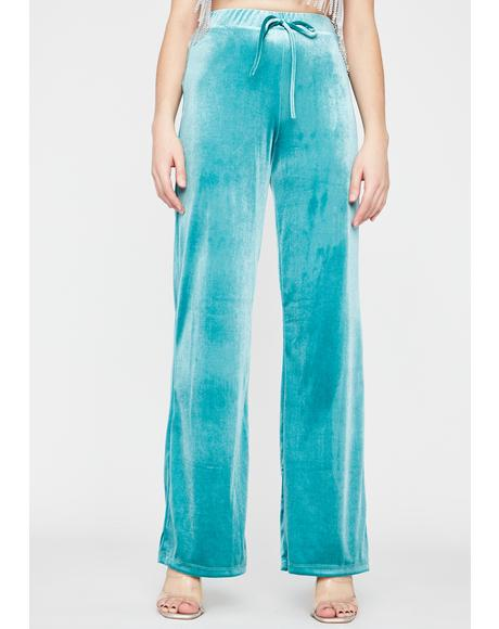 Party Season Velvet Pants