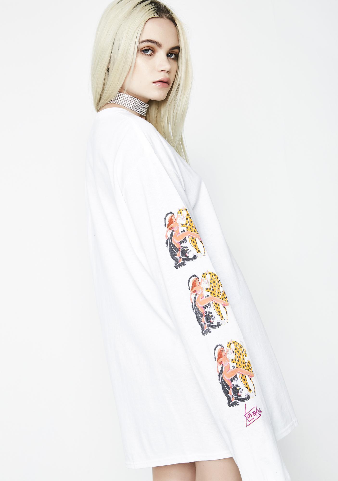 HUF Chloe K Yin-Yang Long Sleeve Tee