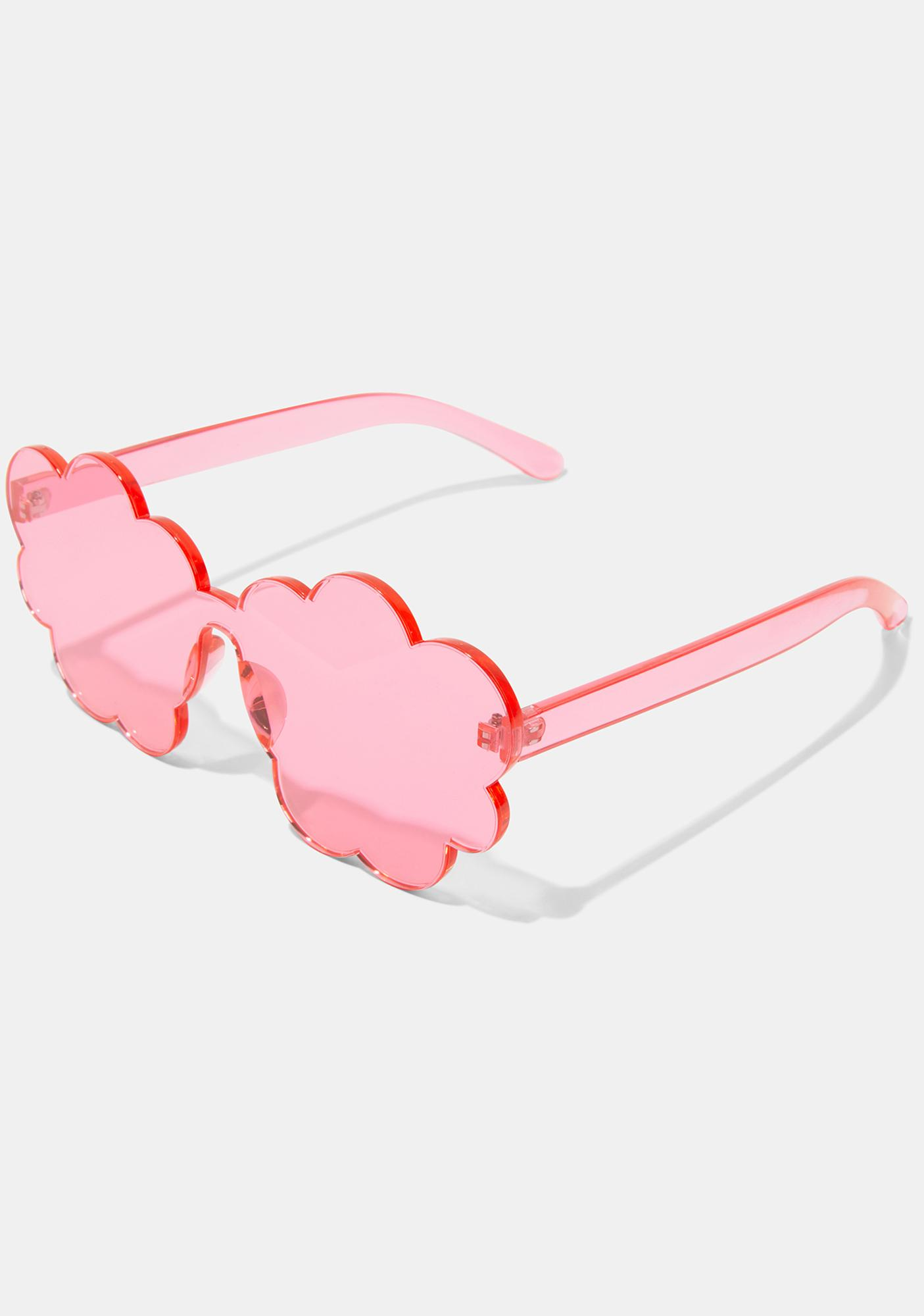 Sweet Cloud Nine Clear Sunglasses