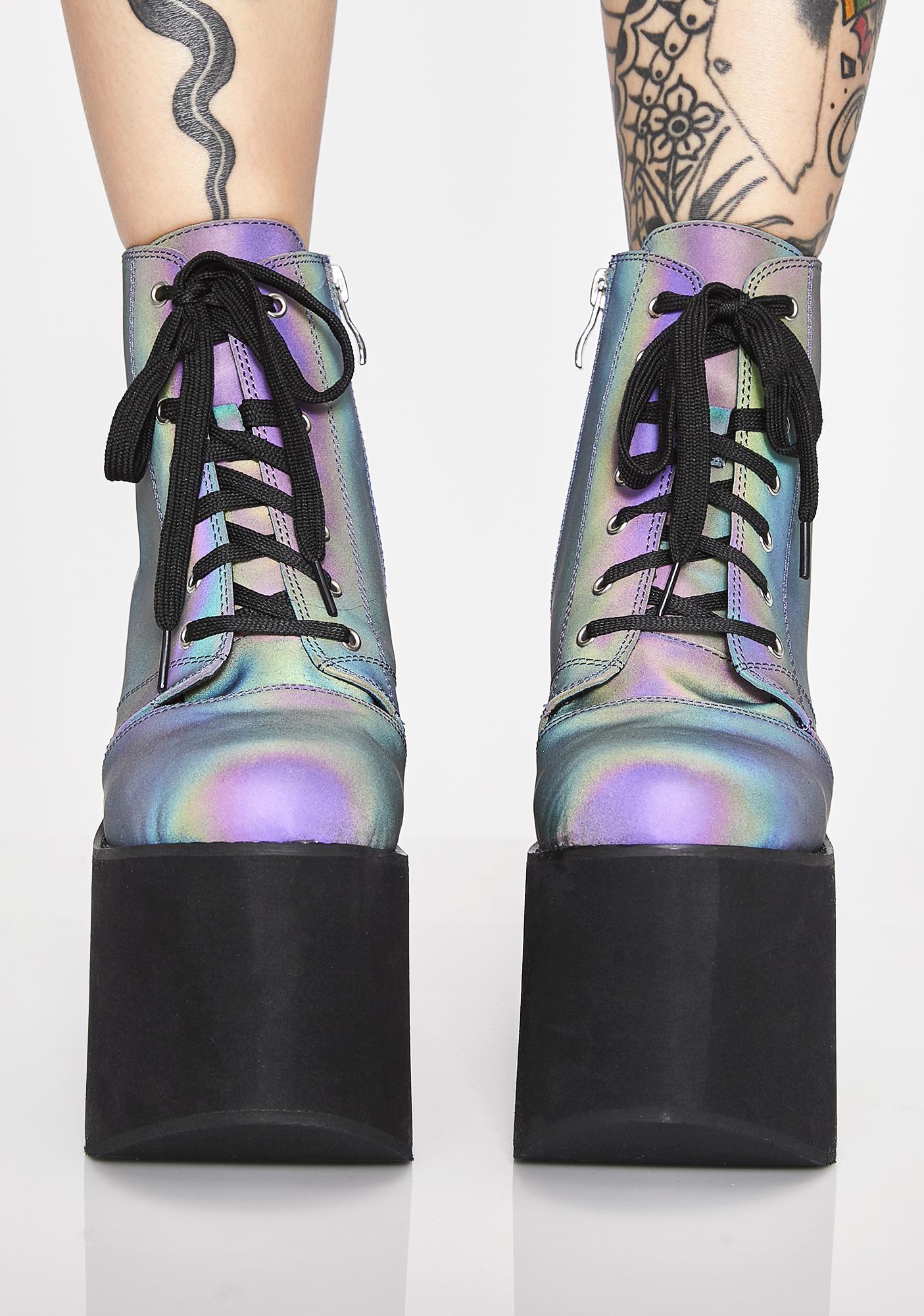 Galactic Dreamer Platform Boots