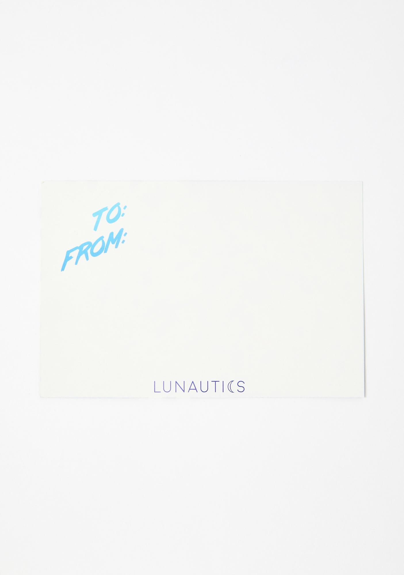 Lunautics Season Shine Holiday Card & Face Jewels Mix Pack