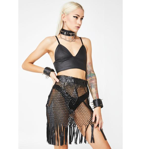 Kiki Riki Nova Kitten Fringe Skirt
