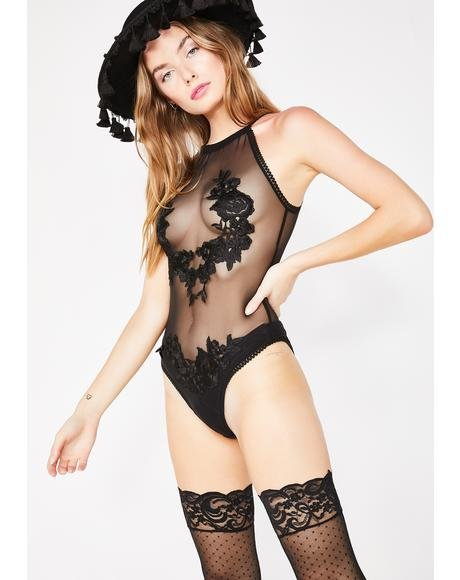 Wicked Minx Sheer Bodysuit