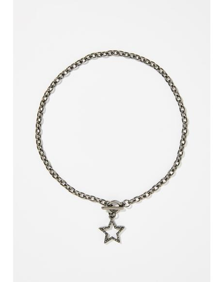 Supreme Star Chain Necklace
