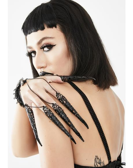 Gothic Finger Chains