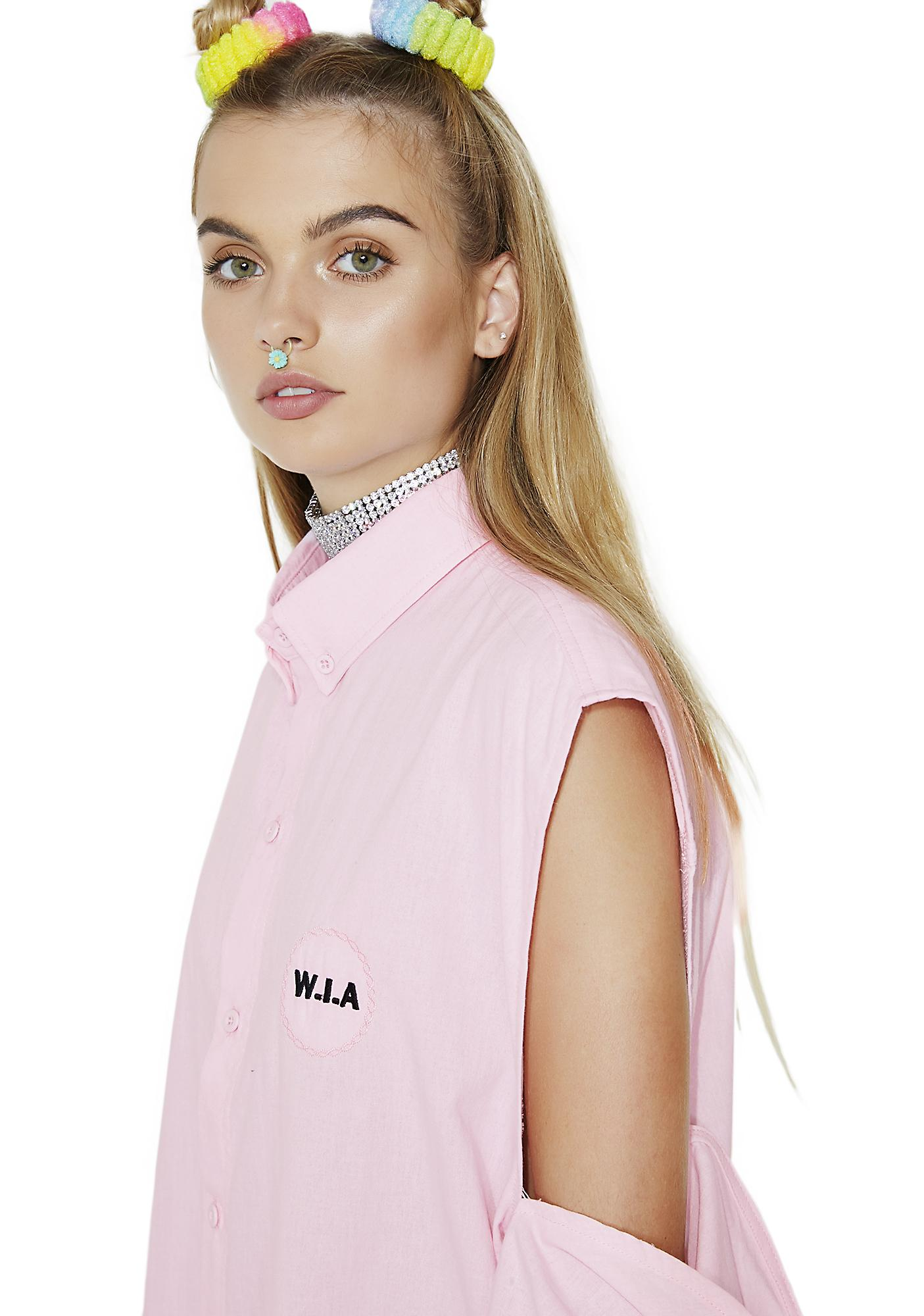 W.I.A Digital Denim Sleeves Shirt