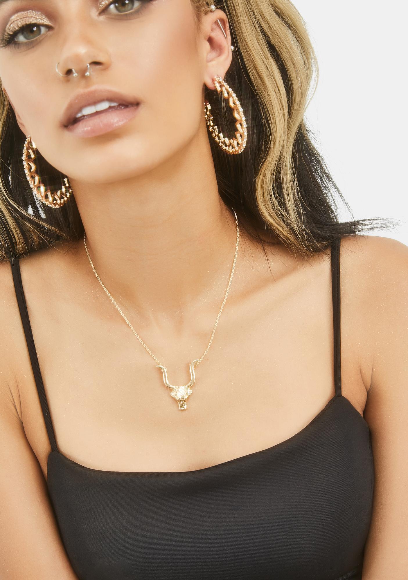Hard Werkin' Taurus Necklace