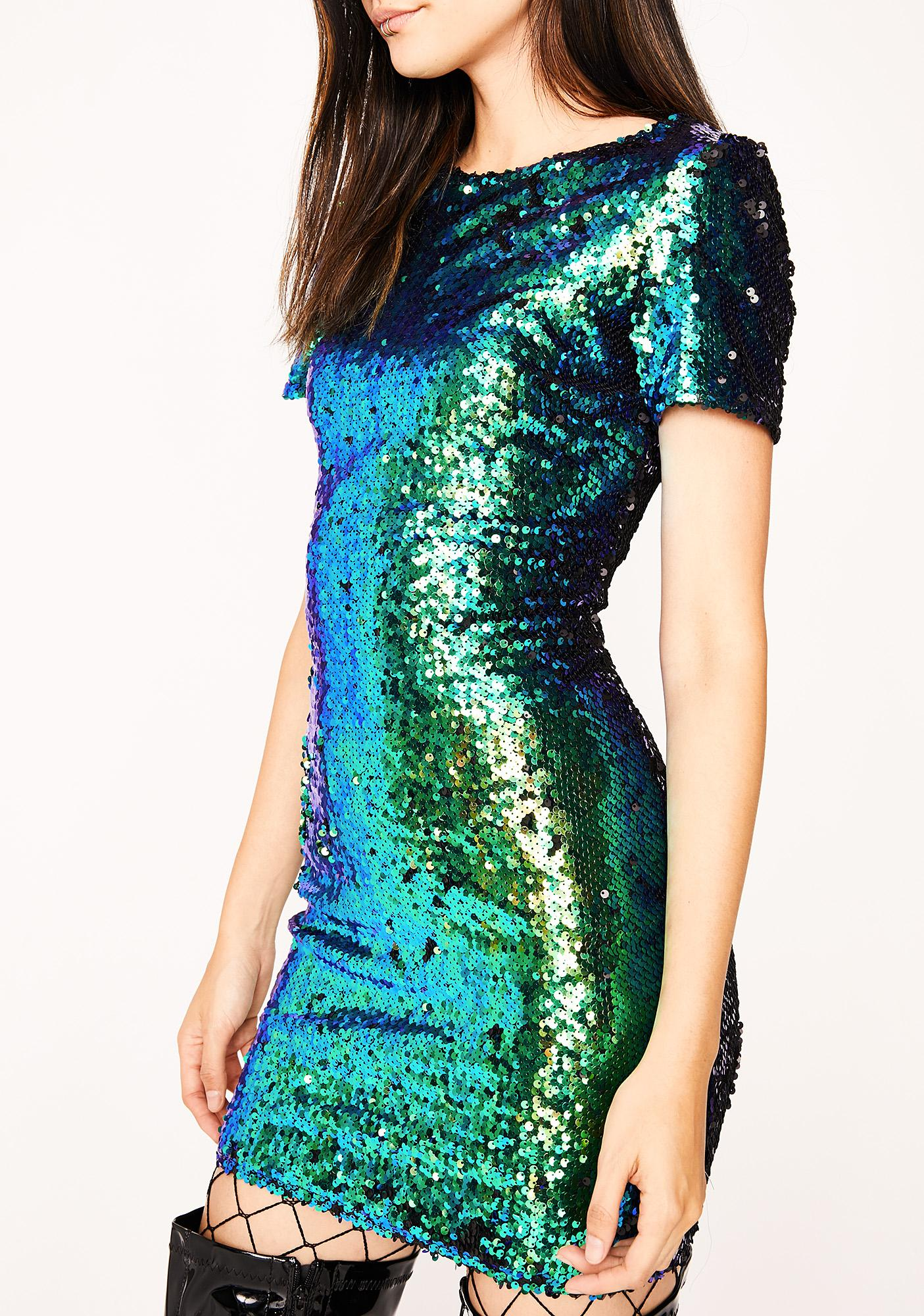 Liquid Fantasies Sequin Dress