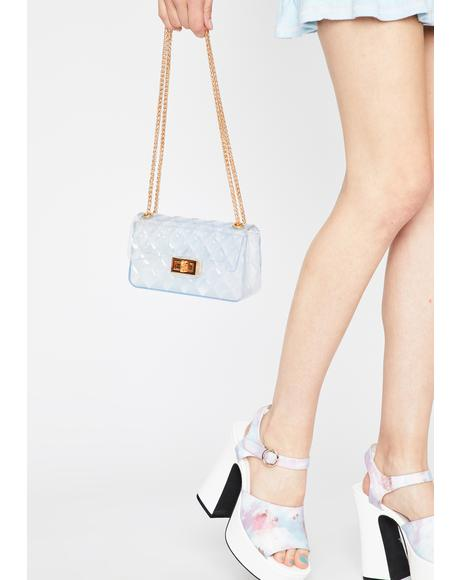 Cloud Cover Clear Handbag