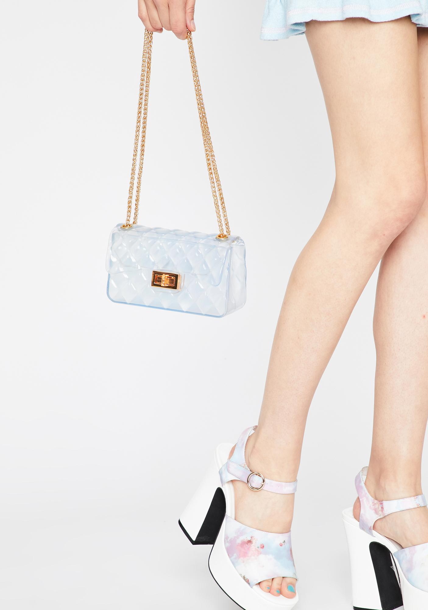 Cloud Cover Clear Handbag