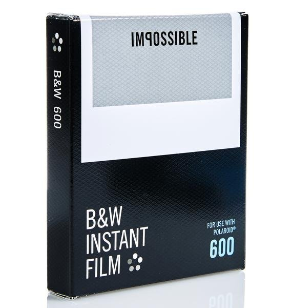 The Impossible Project 600 B&W Film