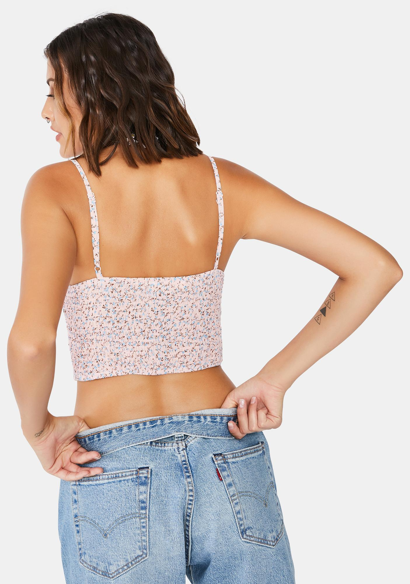 Kiss Of Life Cropped Tank