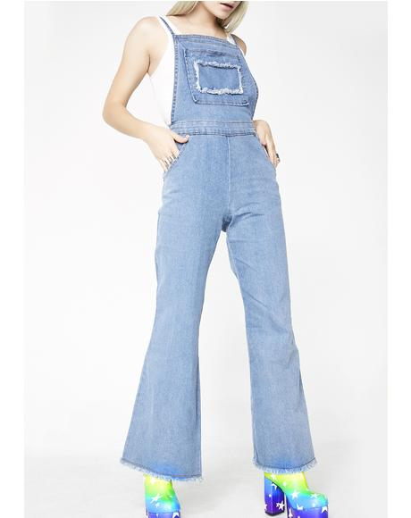 Werking Gal Denim Overalls