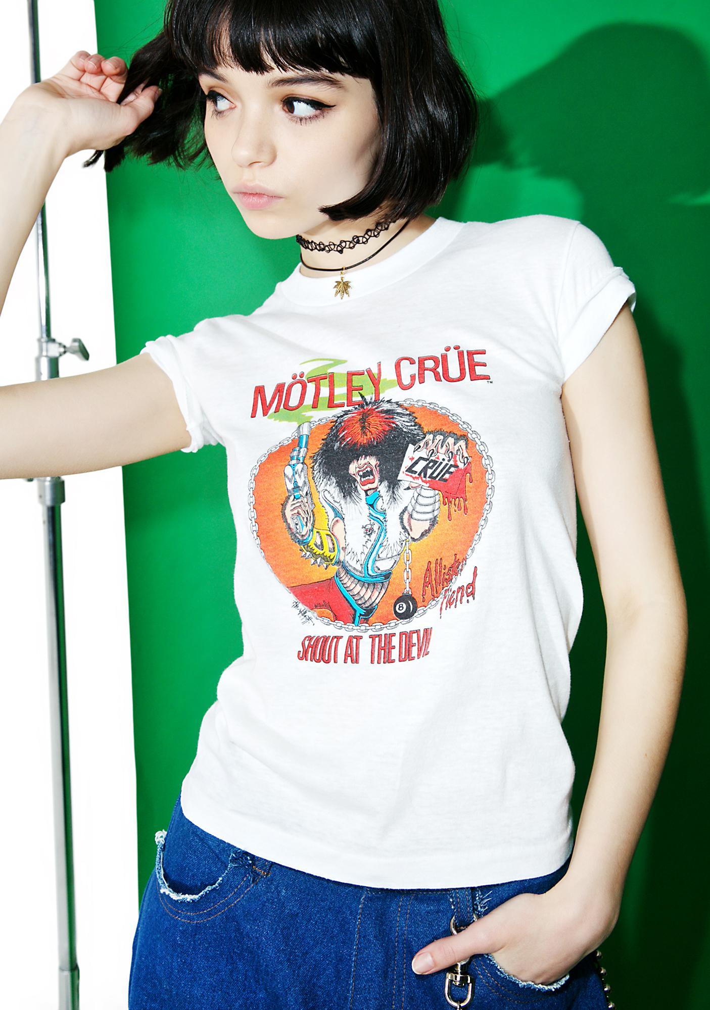 Vintage Motley Crue '83-'84 Tour Tee