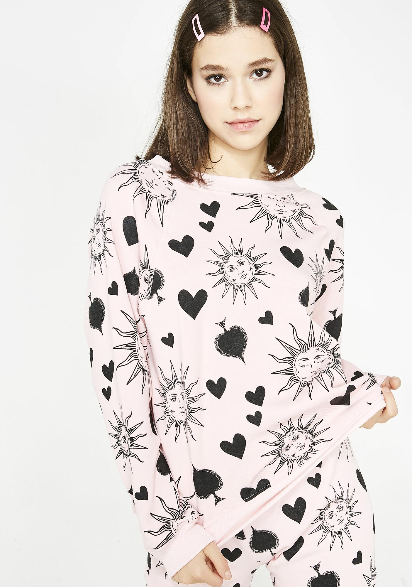 Wildfox Couture Ace Of Spades Sommers Sweater  35a361b70
