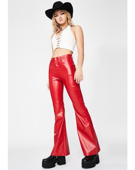 Rowdy Ride Flare Pants