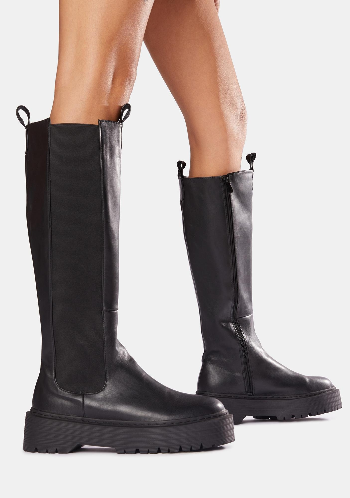 Public Desire Andi Knee High Boots