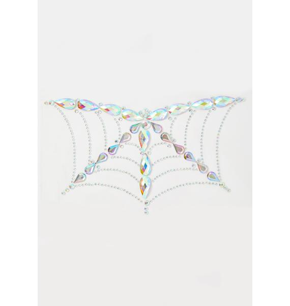 Go Get Glitter Spider Web Body Jewel