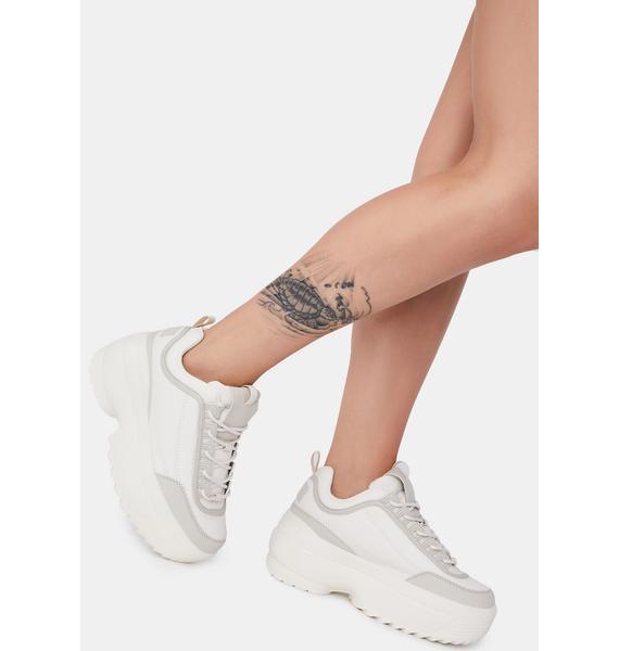 Desert Rec League Platform Sneakers