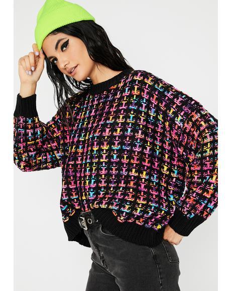 Feelin' Alright Knit Sweater