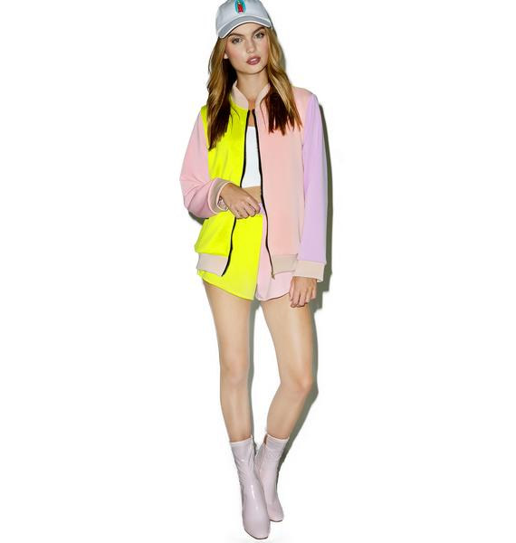 O Mighty The Pastel Bomber Jacket