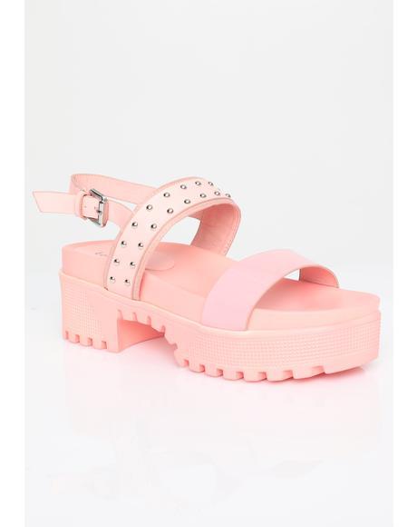 Punk Pixie Studded Sandals