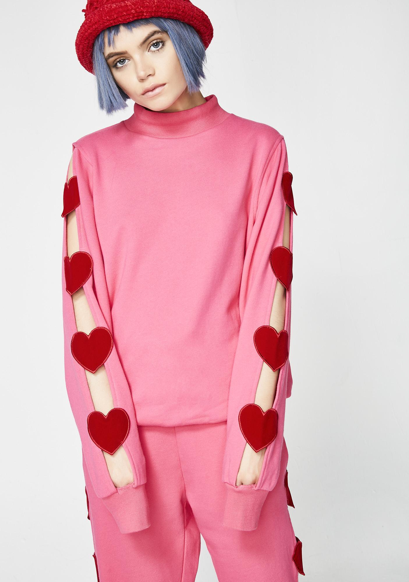Lazy Oaf Heart Breaker Sweatshirt