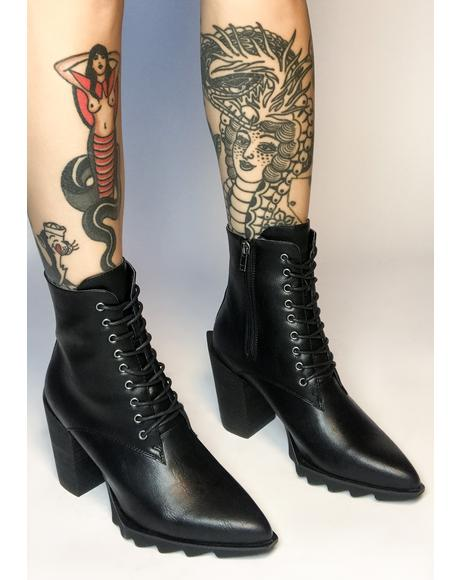 Daredevil Lace Up Boots