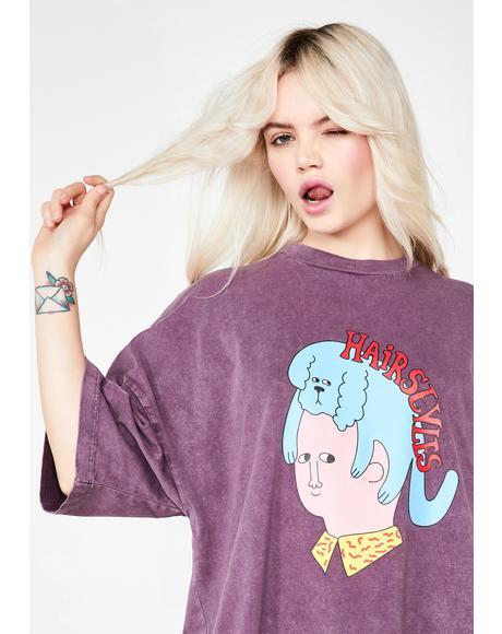 Hairstyles T-Shirt Dress