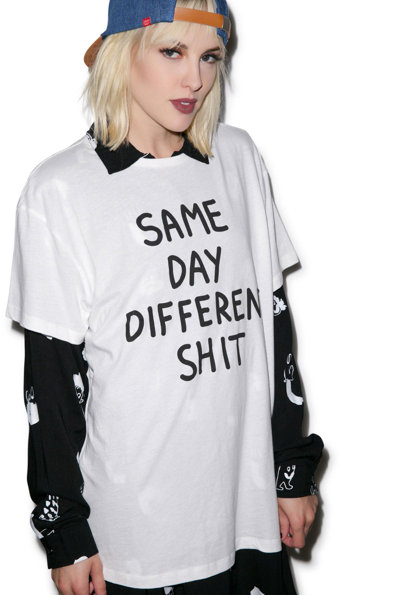Lazy Oaf Same Shit Tee